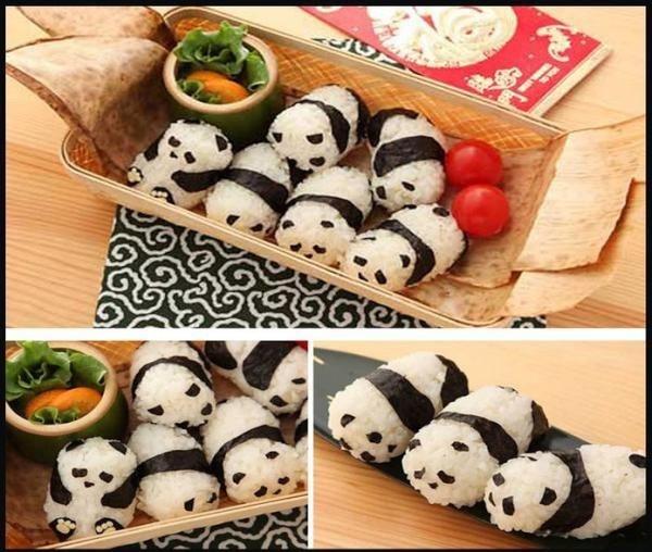 Panda onigiri!!!!