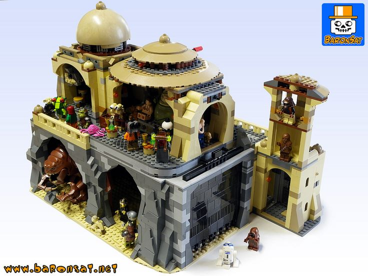 https://flic.kr/p/i1Zu3C | JABBA-PALACE-SUPPORT-03 | Custom support for 9516 Jabba Palace + Trophy room & Torture chamber.