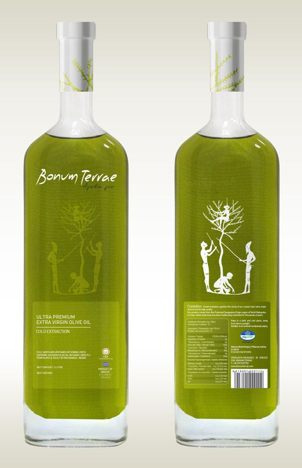 Bonum Terrae Olive Oil Packaging design on Packaging Design Served