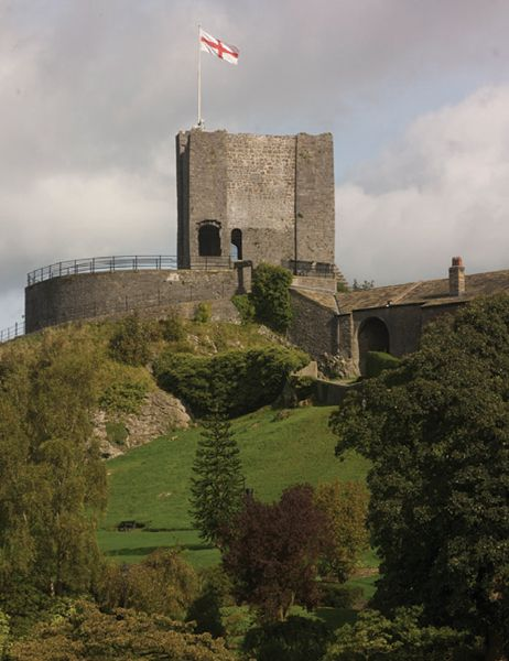 Clitheroe Castle, the town I live in.
