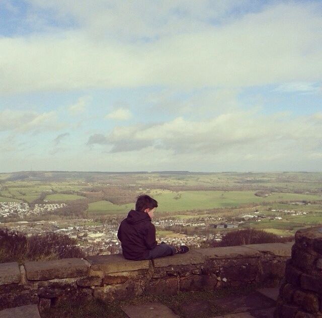 The top of Otley Chevin