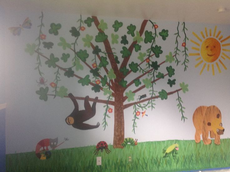Pin by dezz glover on liz pinterest for Eric carle mural