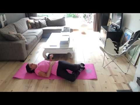 Maandag workout om de week goed te starten - YouTube