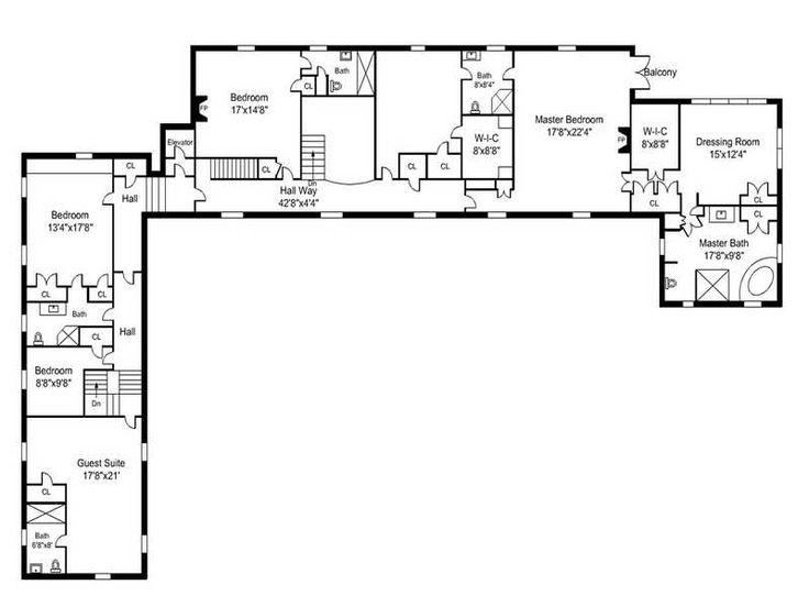 Awesome l shaped house plans with simple open floor plans for Open layout ranch house plans