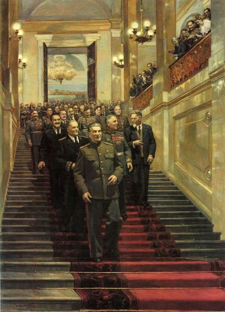 State Reception in the Kremlin on May 24, 1945 by Dmitry Nalbandian