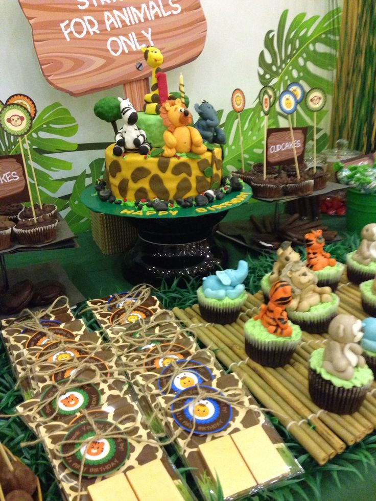 Jungle Candy Buffet By Itsy Glitz Creative Dubai Glitz