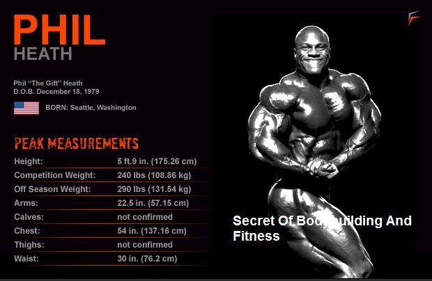 Phil Heath Body Measurements | bodybuilding diet | Pinterest ...