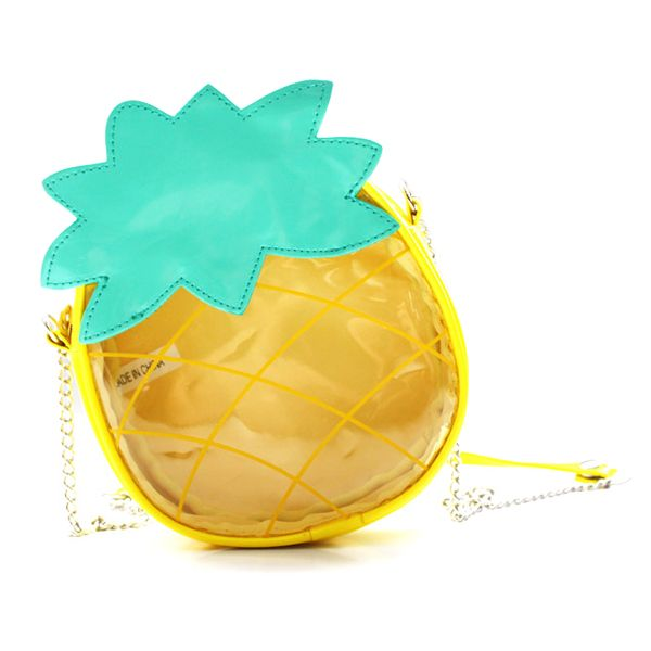 Pineapple Transparent Messenger Bag Small Children's Bag