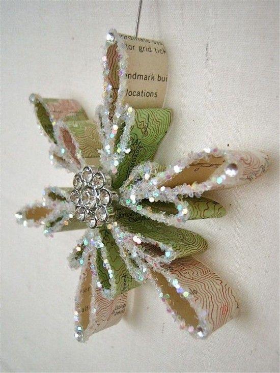 Kreative Schneeflocken basteln – 50 einfache Ideen für die festliche Weihnachtsdeko
