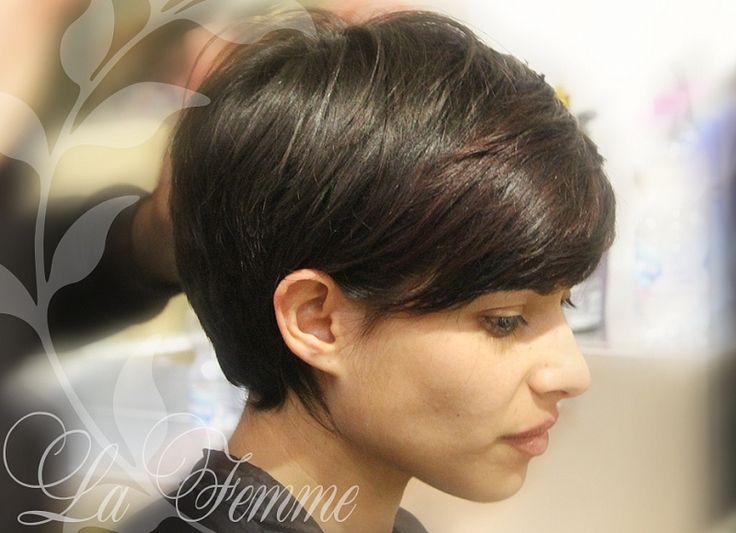 Картинки по запросу брондирование на темные короткие волосы