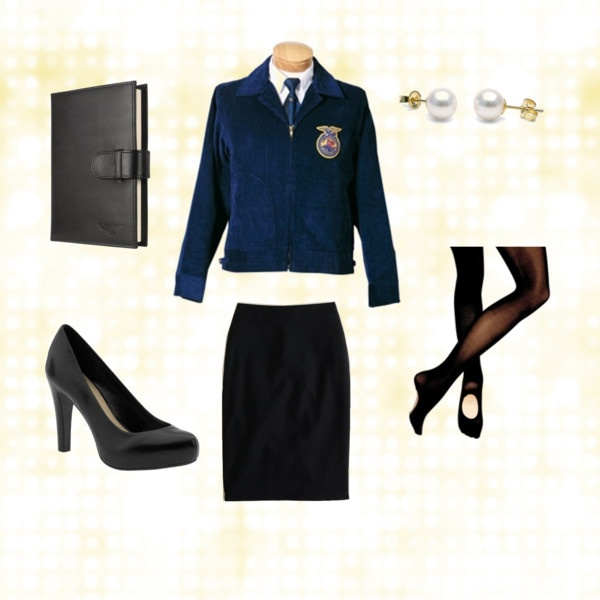 FFA Official Dress.......remember to take your convertible tights and pencil skirt :)
