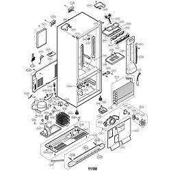 LG fridge LFC23760SW