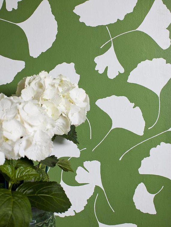 Flowers Vinyl Wallpaper, Removable, Temporary Nursery MB027