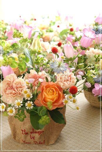【母の日】ご依頼くださったみなさまへ(最終章)|Flower note の 花日記 (横浜・上大岡 アレンジメント教室)