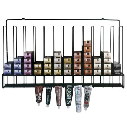 Opentip.com: KELLER ST-TUBERACK Color Rack, Black