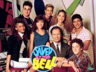 Saved by the Bell!  I remember watching this every morning before school!