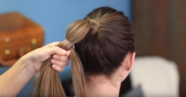 This 'Heart Ponytail' Will Put A Spring In Your Step This Valentine's Day! via LittleThings.com