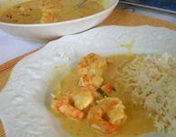 Curry jaune de crevettes express : Etape 3