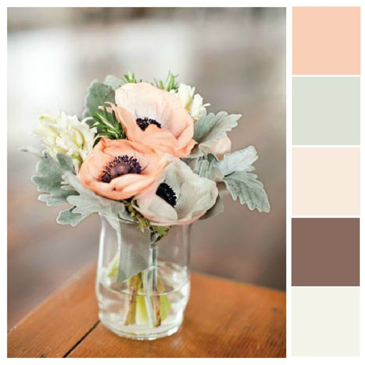 I've been hemming and hawing over wedding colors lately. I am pretty committed to a cream/peach/rose color palette but there are so many different variations! Do I want greens in there? If so, how ...