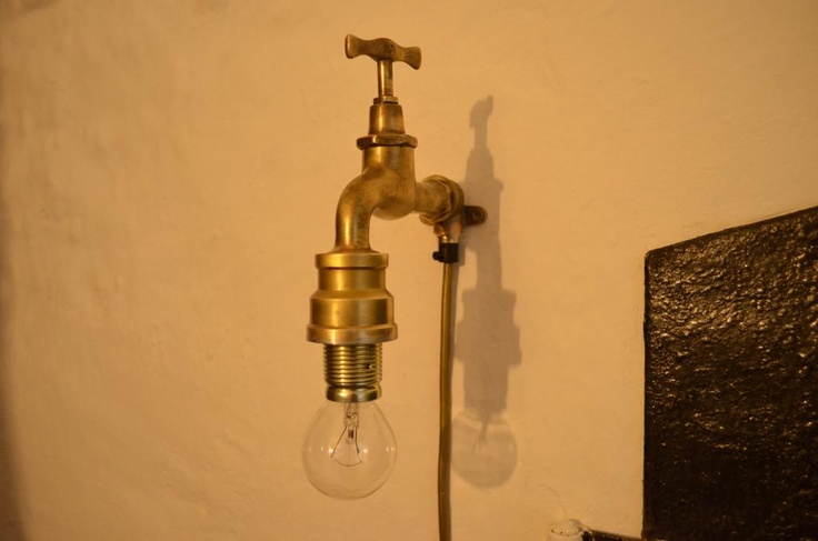 1000 images about recycling lamps industrial light. Black Bedroom Furniture Sets. Home Design Ideas