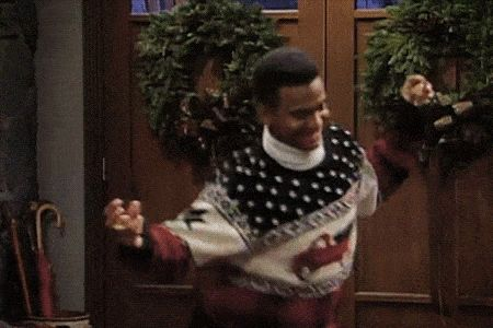37 Times TV Characters Got Their Groove On: The Carlton - Fresh Prince of Bel-Air
