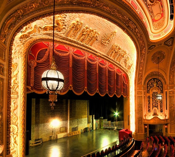 The fabulous Rialto Theater Joliet, Illinois (outside Chicago, Illinois)