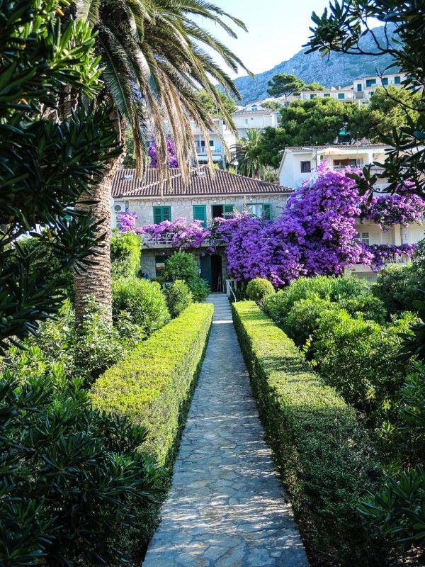 Schöne Gasthäuser in Brela, #Kroatien