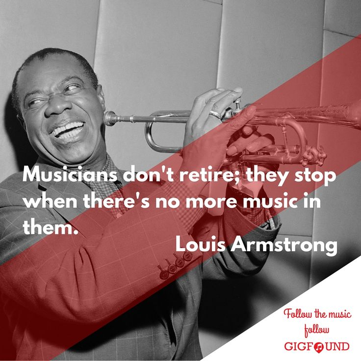 Louis Armstrong quote