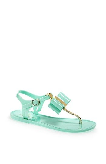 So cute for the summer kate spade new york 'filo' jelly sandal available at #Nordstrom