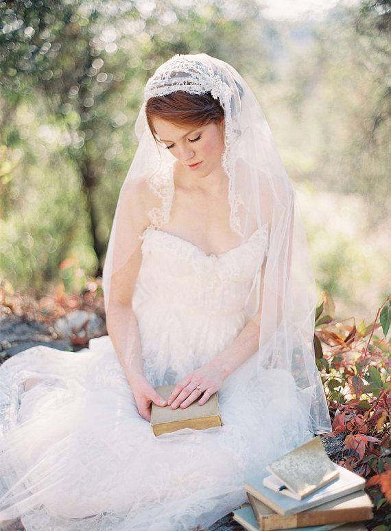 Hey, I found this really awesome Etsy listing at https://www.etsy.com/listing/225403752/bridal-veil-wedding-veil-juliet-cap-veil