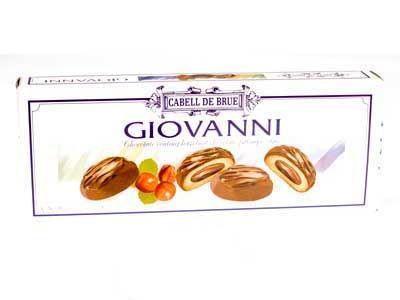 Giovanni : Chocolate Coating Hazelnut Chocolate Filling Cookies Code:TSB109