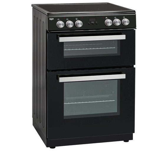 Buy Bush BLC60DBL Electric Cooker - Black at Argos.co.uk, visit Argos.co.uk to shop online for Freestanding cookers, Cooking, Large kitchen appliances, Home and garden