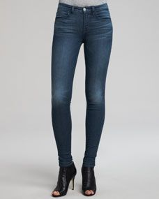 J Brand Jeans Mid-Rise Super Skinny Jeans, Delirium