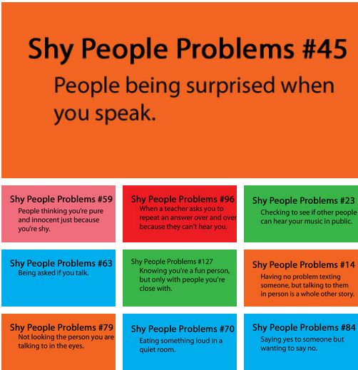 Shy People Problems | Good Quotes | Pinterest | Kid ...