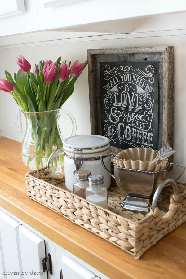 25 best ideas about coffee stations on pinterest coffe bar coffee corner and tea station. Black Bedroom Furniture Sets. Home Design Ideas