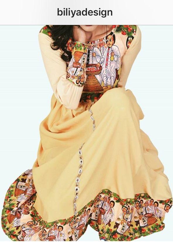 Biliya design | Ethiopian Traditional clothes in 2019 | Ethiopian