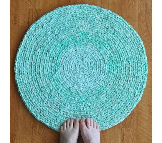 Top 25 Ideas About DIY Rugs On Pinterest Rainbow Crochet Bath Rugs M
