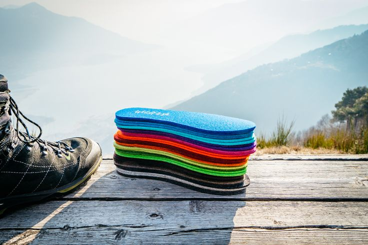 🌈  Rainbow colors for your shoes! WildFash WoolSteps made of merino woolfelt and keep your feet warm and dry.  #keepitwild #wanderlust #wander #neverstopexploring #explorers #explore #exploredreamdiscover #backpacking #hiking #naturelovers #mountains #outdooradventures #travel #sustainable #sustainablefashion #organicfashion #organic #ecologically #fashion #wildfash #lakecomo #comersee #como #italy #visititaly #italia #woolsteps #insoles