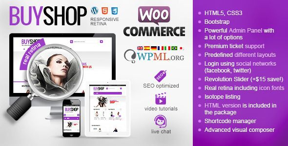 BuyShop , We are proud to present our premium, real transformer WordPress WooCommerce theme. so free download it and enjoy.