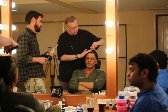 #ShahRukhKhan new look in his Upcoming #Bollywood movie #Fan produced by #AdityaChopra
