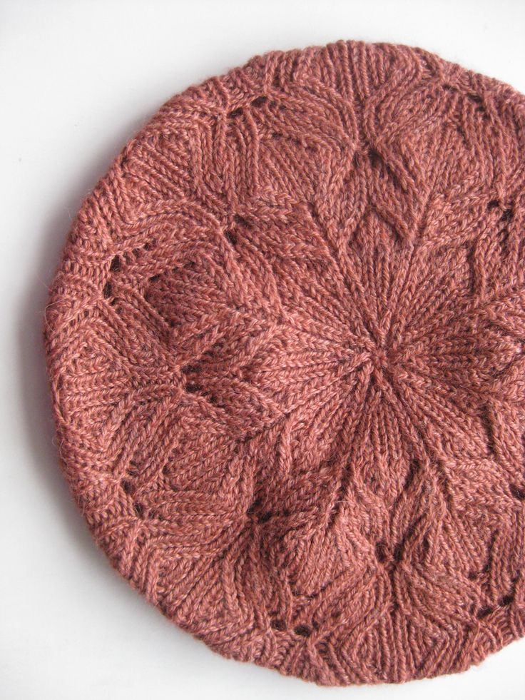 19 best Knitting: Lace Berets images on Pinterest Knit lace, Crochet hats a...