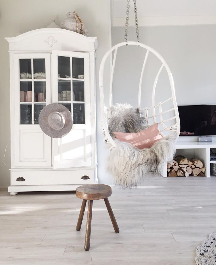Hanging Egg Chair Thomas Bedroom Porch Chairs Attic Ideas Rustic Interiors White Wood Interior Architecture Swings Room Decor - floating chair for bedroom