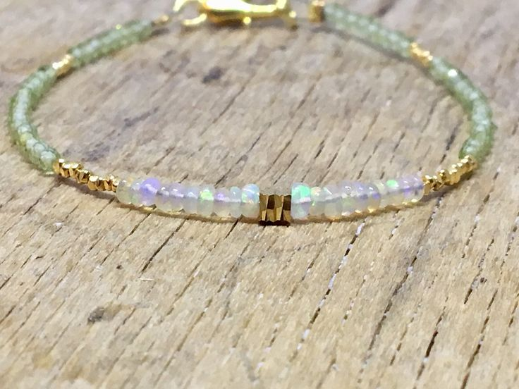 A personal favourite from my Etsy shop https://www.etsy.com/no-en/listing/582982571/opal-and-prehnite-bracelet-light-green