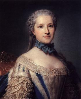 The Marshal de Belle Isle - Maurice Quentin de La Tour