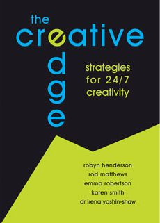 The Creative Edge Is everyone creative? Would you like to awaken your creative spirit and move your thinking from wow to kapow? $25.00 + GST To order, please click: http://www.innovationedge.com.au/shop/books/the-creative-edge