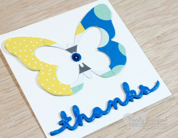 94 best Cards: Negative Die-cuts images on Pinterest | Die cutting ...