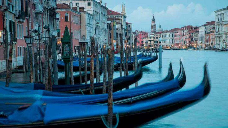 Canale Grande und Gondoliere: Die Lagune von Venedig
