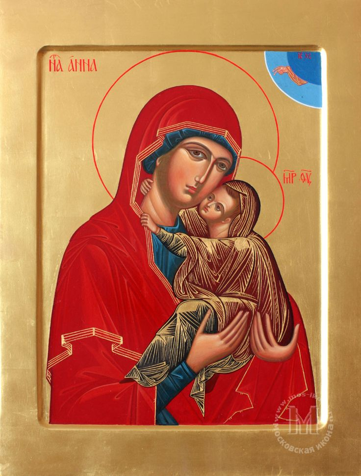 St. Anna holding the Virgin Mary