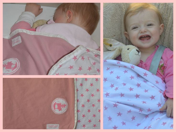 Cowgirlzzz new blanket: Soft, cotton, little stars for your little star!