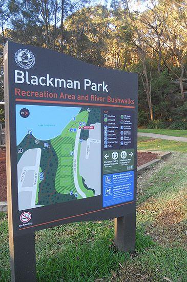 Blackman Park, Lane Cove West